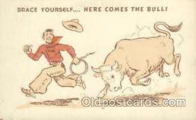 wes000161 - Western Cowboy Postcard Postcards