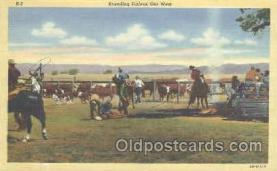 wes000163 - Western Cowboy Postcard Postcards