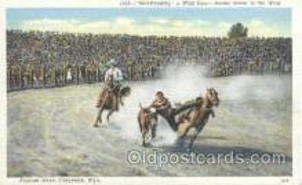 wes000164 - Western Cowboy Postcard Postcards