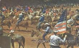 wes000168 - Western Cowboy Postcard Postcards