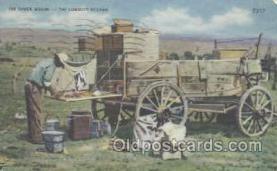 wes000170 - Western Cowboy Postcard Postcards