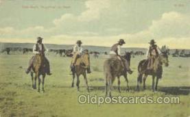 wes000173 - Western Cowboy Postcard Postcards