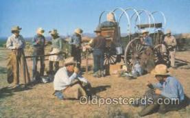 wes000175 - Western Cowboy Postcard Postcards