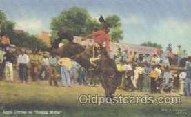 wes000184 - Western Cowboy Postcard Postcards