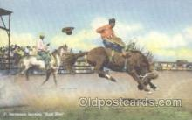 wes000185 - Western Cowboy Postcard Postcards