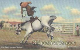 wes000187 - Western Cowboy Postcard Postcards