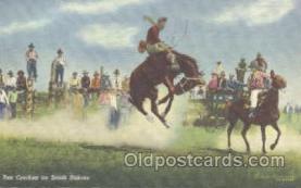 wes000188 - Western Cowboy Postcard Postcards