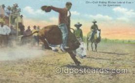 wes000189 - Western Cowboy Postcard Postcards