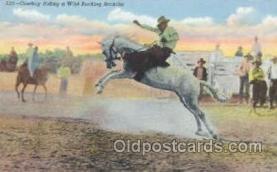 wes000190 - Western Cowboy Postcard Postcards