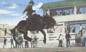 wes000193 - Western Cowboy Postcard Postcards