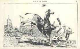 wes000219 - Western Cowboy Postcard Postcards