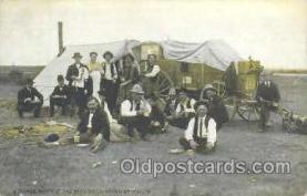 wes000220 - Western Cowboy Postcard Postcards