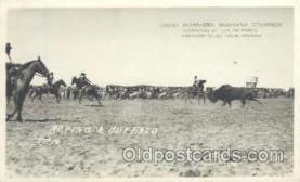 wes000221 - Western Cowboy Postcard Postcards