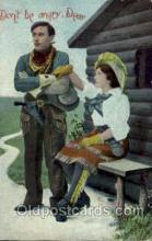 wes000250 - Western Cowboy Postcard Postcards