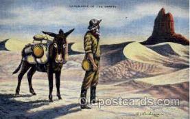 wes000263 - LH Dude Larsen, Western Cowboy Cowgirl Postcard Postcards
