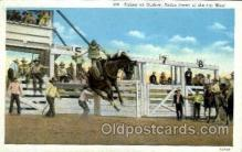 wes000266 - Riding and Outlaw, Western Cowboy Cowgirl Postcard Postcards