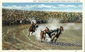 wes000269 - Western Cowboy Cowgirl Postcard Postcards