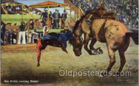 wes000272 - Bob Boden, Western Cowboy Cowgirl Postcard Postcards