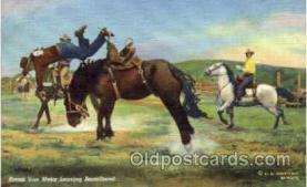 wes000273 - Frank Van Meter, Western Cowboy Cowgirl Postcard Postcards