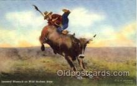 wes000274 - Leonard Womach, Western Cowboy Cowgirl Postcard Postcards