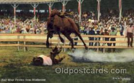 wes000276 - Earl West, Western Cowboy Cowgirl Postcard Postcards