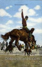 wes000293 - Western Cowboy Cowgirl Postcard Postcards