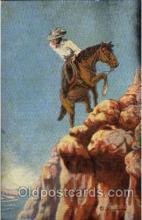 wes000305 - LH Dude Larsen, Western Cowboy Cowgirl Postcard Postcards