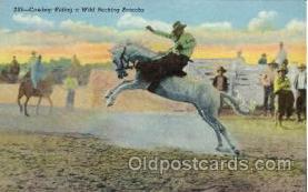 wes000308 - Western Cowboy Cowgirl Postcard Postcards
