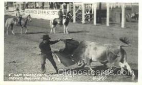 wes000361 - Sam Stuart, Bull Fighter Western Cowboy, Cowgirl Postcard Postcards