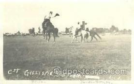 wes000370 - Western Cowboy, Cowgirl Postcard Postcards