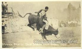 wes000379 - Frank Sharp Western Cowboy, Cowgirl Postcard Postcards