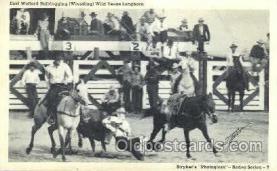 wes000381 - Earl Wofford Western Cowboy, Cowgirl Postcard Postcards