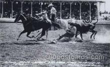 wes000388 - Sidney Rodeo Western Cowboy, Cowgirl Postcard Postcards
