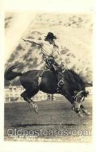 wes000391 - Annual Rodeo in Ellensberg Wyoming Western Cowboy, Cowgirl Postcard Postcards