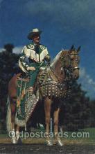 wes000398 - Western Cowboy, Cowgirl Postcard Postcards