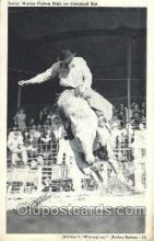 wes000400 - Junior Martin  Western Cowboy, Cowgirl Postcard Postcards