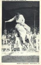 wes000401 - Junior Martin  Western Cowboy, Cowgirl Postcard Postcards