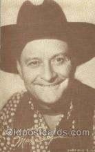wes000402 - Max Terhune Western Cowboy, Cowgirl Postcard Postcards