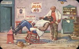 wes000417 - Black Bart Western Cowboy, Cowgirl Postcard Postcards