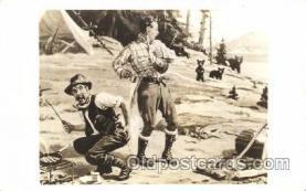 wes000418 - Western Cowboy, Cowgirl Postcard Postcards