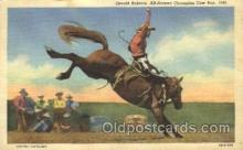 wes000436 - Gerald Roberts Western Cowboy, Cowgirl Postcard Postcards