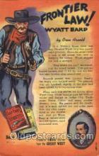 wes000445 - Western Cowboy, Cowgirl Postcard Postcards