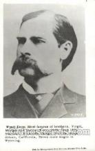 wes000460 - Wyatt Earp Western Cowboy, Cowgirl Postcard Postcards