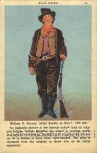 wes000461 - William H. Bonney  Western Cowboy, Cowgirl Postcard Postcards