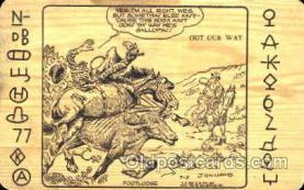 wes001280 - Western, Cowboy, Cowgirl, Postcard Postcards