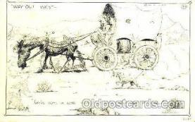 wes001290 - Western, Cowboy, Cowgirl, Postcard Postcards