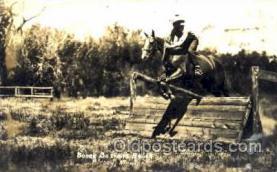 wes001291 - Birney, Montana, USA, Western, Cowboy, Cowgirl, Postcard Postcards