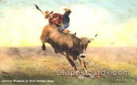wes001308 - Western, Cowboy, Cowgirl, Postcard Postcards
