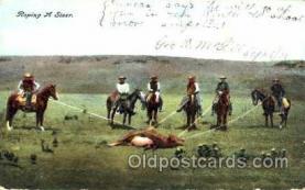 wes001309 - Western, Cowboy, Cowgirl, Postcard Postcards