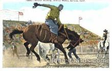 wes001310 - Salinas, Calififornia USA, Western, Cowboy, Cowgirl, Postcard Postcards